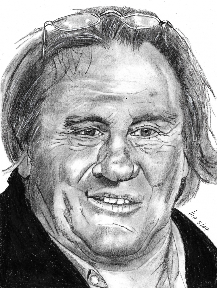 Gérard Depardieu par patrick